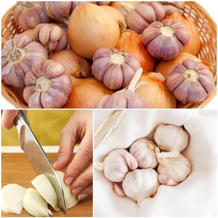 Ajos y Cebollas para la Salud
