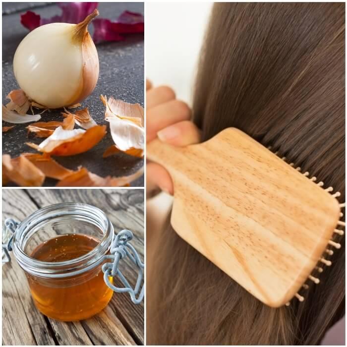 como se usa la cebolla morada para el cabello