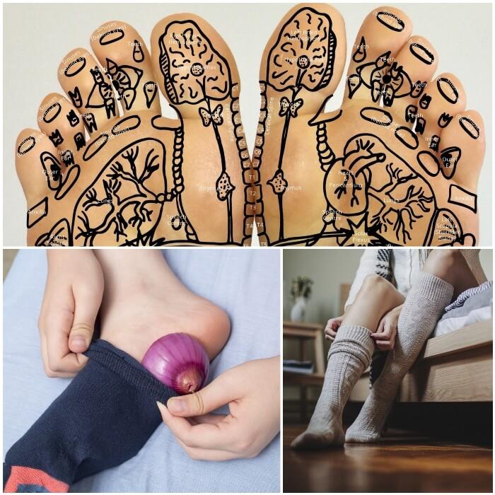 Beneficios de poner cebolla en los pies
