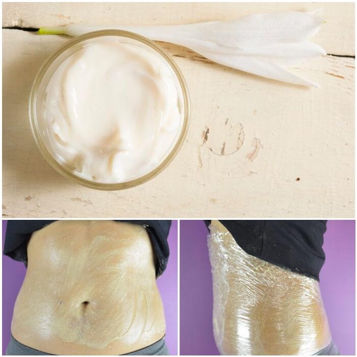 crema reductora de jengibre para quemar grasa abdominal