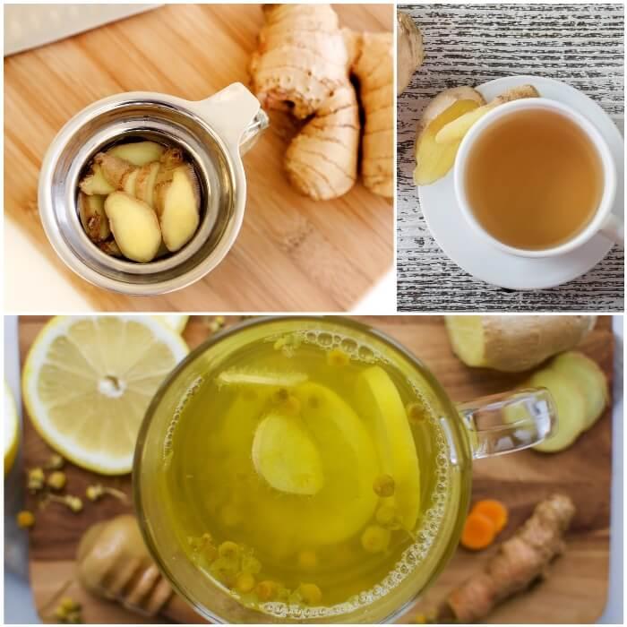 ventajas y desventajas de tomar te de jengibre