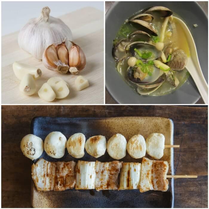 Usos y consumo del ajo japonés