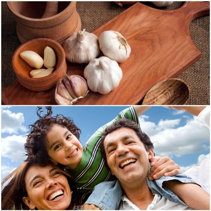 Poder antibiótico del ajo y la alicina