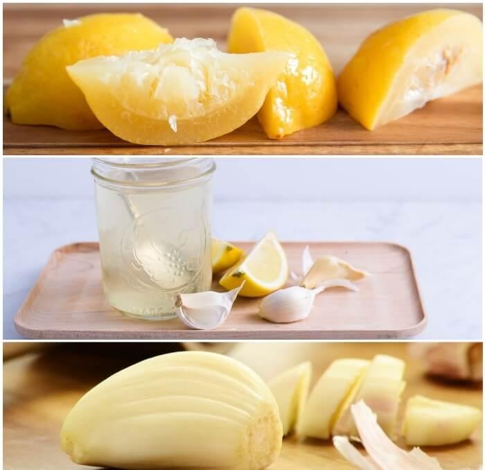 Propiedades del ajo con limón